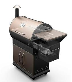 Z GRILLS Wood Pellet Grill & Smoker w/Electric Digital Contr