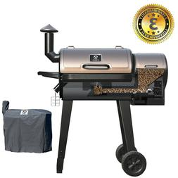 Z GRILLS Wood Pellet Grills BBQ Smoker Digital Control with
