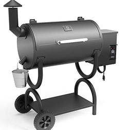 ZGRILLS Wood Pellet Grill Smoker Outdoor BBQ Grills and Smok