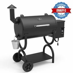Z GRILLS Wood Pellet Smoker Outdoor BBQ Grill Barbecue Patio