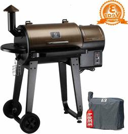 Z GRILLS 2020 Newest Wood Pellet Grill & Smoker 7 in 1- Elec