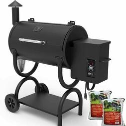ZPG-550B-WD 2019 Upgrade Model Wood Pellet Grill & Smoker, 8