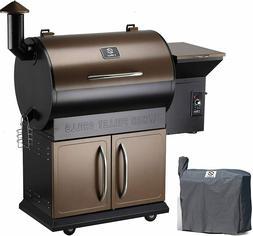 Z GRILLS 2020 Upgrade Wood Pellet Grill& Smoker 8 in 1 BBQ G