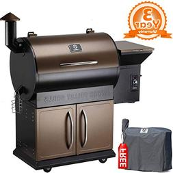 Z GRILLS ZPG-700D 2019 Upgrade 8 in 1 BBQ Grill Auto Tempera